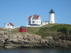 Cape Neddick--Nubble Lighthouse...this is where I hung myself and got married....thank God for divorce! No grudges against the lighthouse tho... lol!