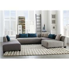Shop For The Broyhill Furniture Milo Contemporary Sectional Sofa At Miller  Brothers Furniture   Your West Central PA, Tricounty Area, Dubois, ...