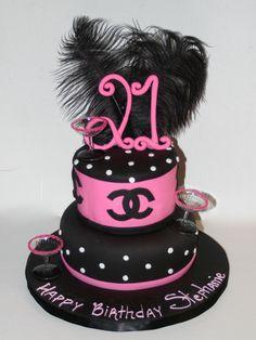 popular girls 21st birthday cake 21st Birthday Cakes for Girls