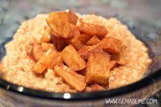 21 Day Fix Breakfast Idea. Steel Cut Oats, Apple, Cinnamon. Yummy and easy!