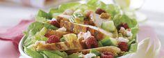 Sałatka z grillowanym kurczakiem, malinami i kozim serem. Kliknij w zdjęcie i poznaj przepis :-)