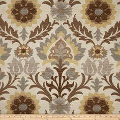 Waverly Sun N Shade Santa Maria Moonstone Fabric By The Yard