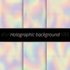 Hologram background. Holographic art. Rainbow backdrop. Multicolor design. Polychromatic illustration. Spectrum decoration. Bright abstract gradient. Vector. #hologram #holography #holographic #pastel #versicolor #versicolored #versicoloured #multicolor #multicolored #multicolour #polychrome #polychromatic #gradient #spectrum #rainbow #fluid #iridescent   http://buff.ly/2daKuiB Shutterstock Image ID: 475996876 http://buff.ly/2daKLCl Fotolia Image ID: 120385058