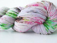 Sock Yarn Superwash Merino / Nylon Hand dyed  by CakewalkYarns, $23.00