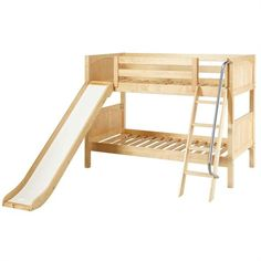 The Eli Low Bunk Bed is a fun and functional bunk bed for your child!