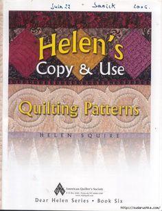 """""""Helens Copy & Use"""". Книга по лоскутной технике и стежке.. Обсуждение на LiveInternet - Российский Сервис Онлайн-Дневников"""