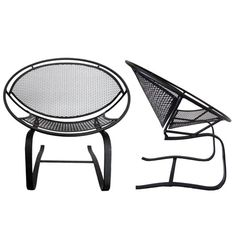 Pair of Salterini Hoop Mid Century Patio Bouncer Chairs on Etsy, $1,000.00