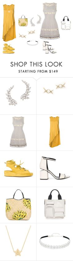 """Crawlers..**"" by yagna ❤ liked on Polyvore featuring Kenneth Jay Lane, Elizabeth and James, Chanel, Zero + Maria Cornejo, MASNADA, Alexander Wang, Aranáz, Marni, Delfina Delettrez and vintage"