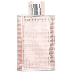Burberry  Brit Rhythm Floral Eau De Toilette 1.7 Fl. Oz ($74) ❤ liked on Polyvore featuring beauty products, fragrance, perfume, beauty, makeup, accessories, edt perfume, flower perfume, burberry fragrance and parfum fragrance