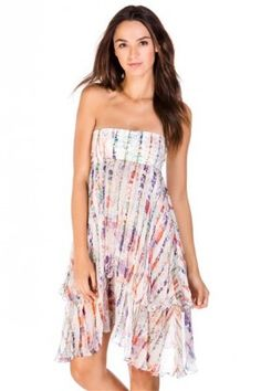 SHAN Carla Silk Ruffled Dress $349.99 SHIPPED FREE ~~ALSO FREE LOCAL DELIVERY NOW AVAILABLE WITHIN 10 MILES OF SANTA MONICA, CALIFORNIA