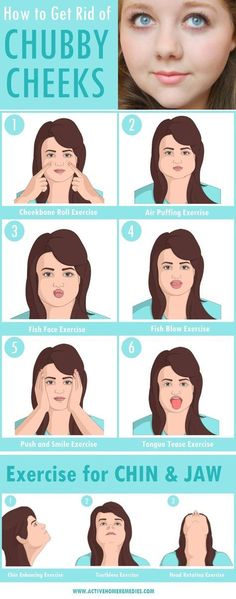 How to Get Rid of Chubby Cheeks & Lose Facial Fat [INFOGRAPHIC] Online resource for articles on natural beauty, health, skincare, weight loss and alternative medicine. Quick Weight Loss Tips, Weight Loss Help, Weight Loss Challenge, How To Lose Weight Fast, Reduce Weight, Losing Weight, Best Weight Loss Foods, The Plan, Remove Belly Fat