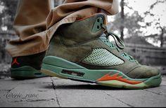Air Jordan 5 Olive