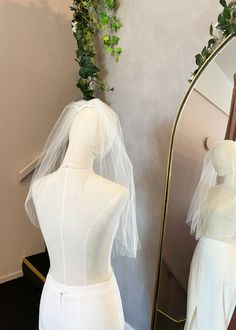 AVA elbow length veil 9 Headpiece Wedding, Wedding Veils, Wedding Ceremony, Reception, Ivory Wedding, White Wedding Dresses, Bridal Looks, Ava, Modern Romance