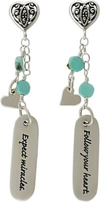 Love this items.  Sterling Silver Quote Charms  @ninadesigns