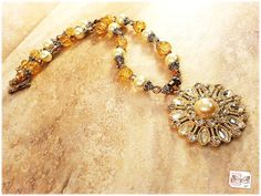 $25  from Ramona Cordelia.  Beautiful Victorian style necklace.....perfect for any woman!