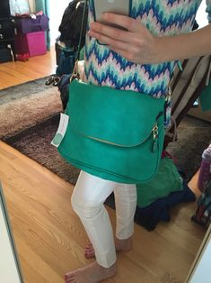 I said no accessories but I actually really like and could use a cute smaller to medium sized cross body bag for when I don't need the diaper bag/purse I usally carry.