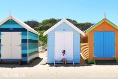 THIS ISLAND LIFE | Bathing Boxes at Brighton Beach in Melbourne