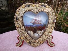 heart diorama