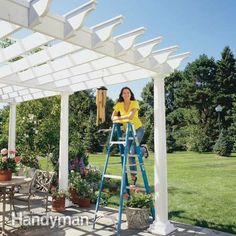 A beautiful addition to your yard - how to build a pergola