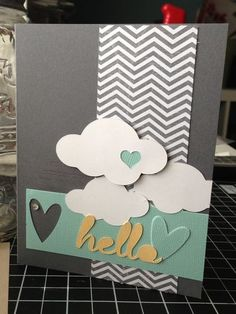 Hybrid Stampin' Up! Card and Cameo Silhouette using MDS