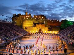 Edinburgh Castle - Military Tattoo