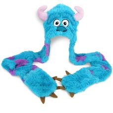 Stay warm in style with this Sulley Beanie with Mittens. 1150 points, or 863 points w/S&P