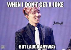 hahaha! I'm pretty sure Jongup does that a lot xD