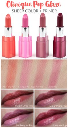 Clinique Pop Glaze Sheer Lip Color   Primer Review | My New Lip Product Obsession!