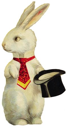 The perfect rabbit for my Valentine Circus...next year.