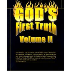 God's First Truth