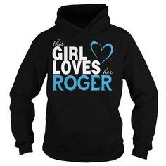 This Girl Loves Her Roger #8211; Change Name At Https://teecustomize.com/change_name_30 #buy #roger #federer #t #shirt #india #roger #mcguinn #t #shirt #roger #waters #radio #kaos #t #shirt #uncle #roger #t #shirt
