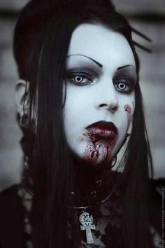 Vampire, Vamp, Blood, red, fetish