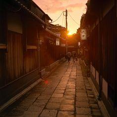 Ishibei-koji, Kyoto, Japan