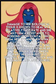 Mystique facts. Marvel comics