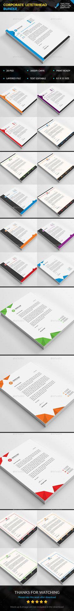 Corporate Letterhead Bundle
