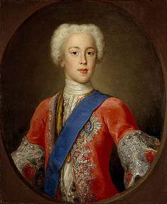 Prince Charles Edward Stuart, 1720 - 1788. Eldest son of Prince James Francis Edward Stuart (1732) by Antonio David