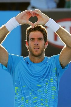 He's also kind of a major babe. | Juan Martín Del Potro Is Your Dreamy New Tennis Star Boyfriend