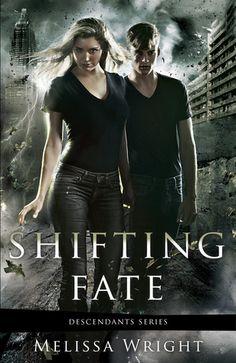 Shifting Fate by Melissa Wright | Descendants, BK#2 | Cover: Gene Mollica | www.melissa-wright.com | #Paranormal