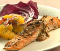The Bestest Recipes Online: Moroccan Grilled Salmon