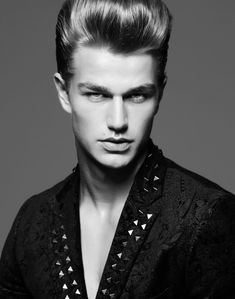 Swiss Model Laurin Krausz at Independent Men Milano
