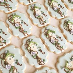 (^o^) C is for Cookie (^o^) ~ Birdhouse plaque cookies for this weekend. One of my new favorites. 💕 #bellasucrecookies