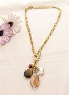 330 best lia sophia necklaces images on pinterest lia sophia lia sophia inspired natural charm necklace this is a better picture than the first one aloadofball Choice Image