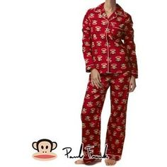 Paul Frank Pyjamas - Paul Frank Core Julius Women's Pyjama Set - Red