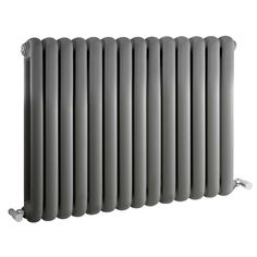 SALVIA Retro designer radiator 635mm x 863mm - 1496Watt - Antraciet - Image 1