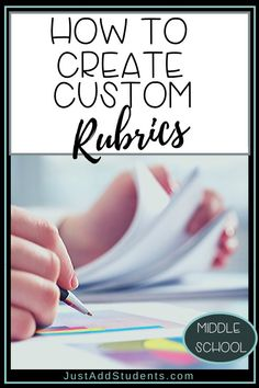 Rubrics will save you time in grading. You can (and should) create rubrics that meet the needs of your students, the assignment, and the standards. Here's how to custom create rubrics for any assignment. Writing Resources, Teaching Strategies, Teaching Writing, Teaching Tips, Writing Ideas, Spelling Activities, Spelling Ideas, Word Skills, Expository Writing