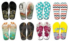 FlyingFlips ~ Awesome FlipFlops with Crowdsourced Designs