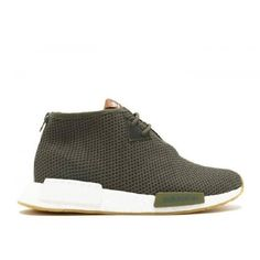 premium selection 9a278 c1031 Adidas NMD Boost - Billige Adidas NMD C1 End X Consortium Earth Gron Solid Gron  Adidas