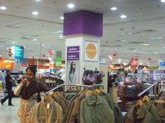 Spencer's store at South City Mall, Kolkata, India.