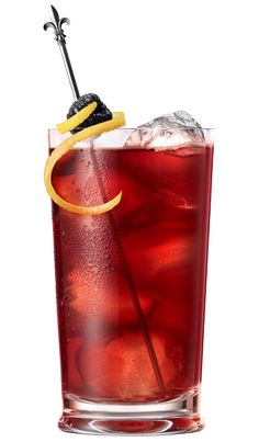 Fleur De Lis (3/4 oz Chambord Flavored Vodka, 3/4 oz Chambord Liqueur, 2 oz Lemonade.1 oz Cranberry Juice, squeeze Lemon)