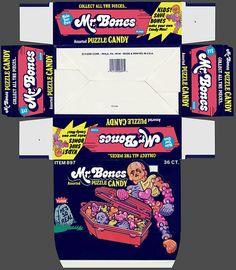 Mr. Bones Puzzle Candy
